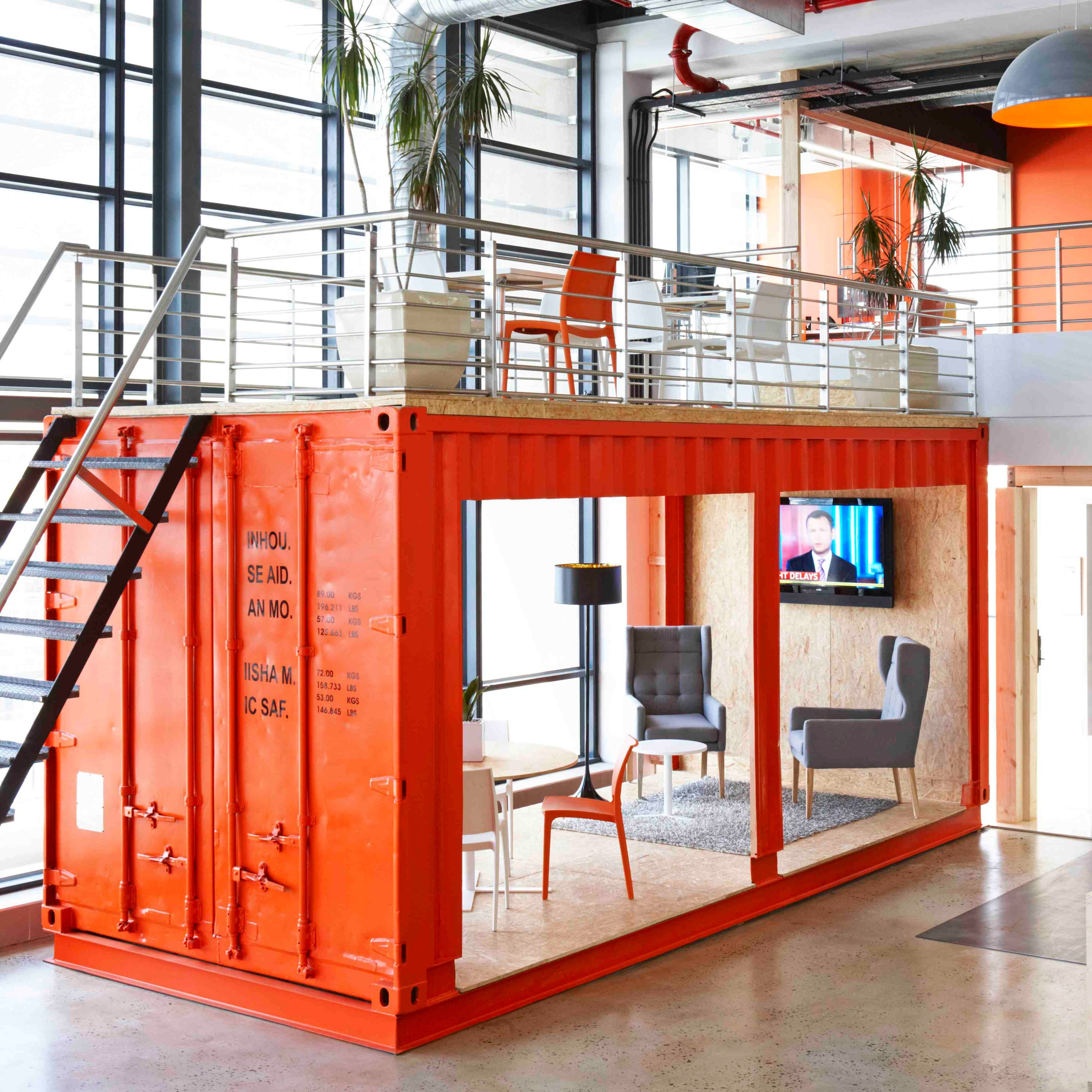 Container Home Interior: Top 20 New And Innovative Uses Of Shipping Containers