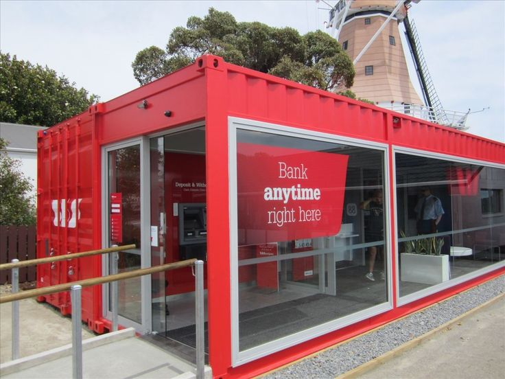 Bank-office-made-of-shipping-container