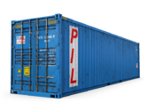 40ft Wind & Watertight Shipping Container