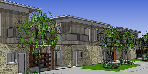 Affordable Shipping Container Housing in the Lone Star State