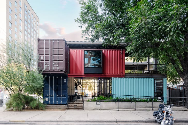 Container Structures in Houston