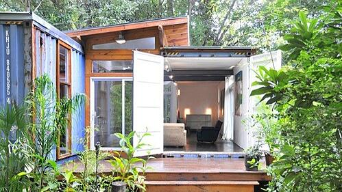 Southern Charm and Shipping Containers