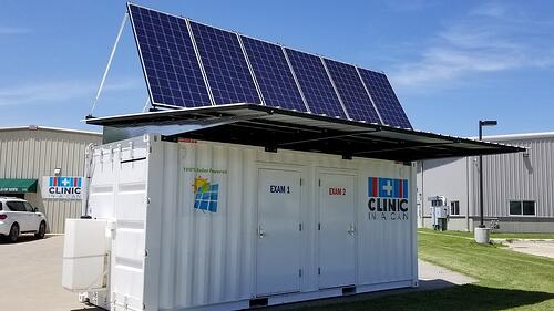 How could Shipping Containers help treat COVID-19?