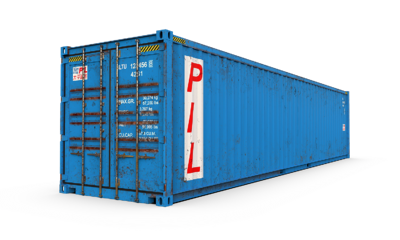 Used WWT Shipping Container