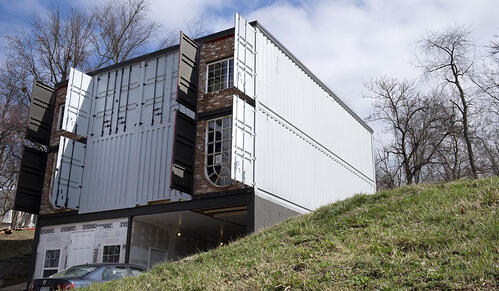 Stunning Shipping Container Home in the Show-Me State