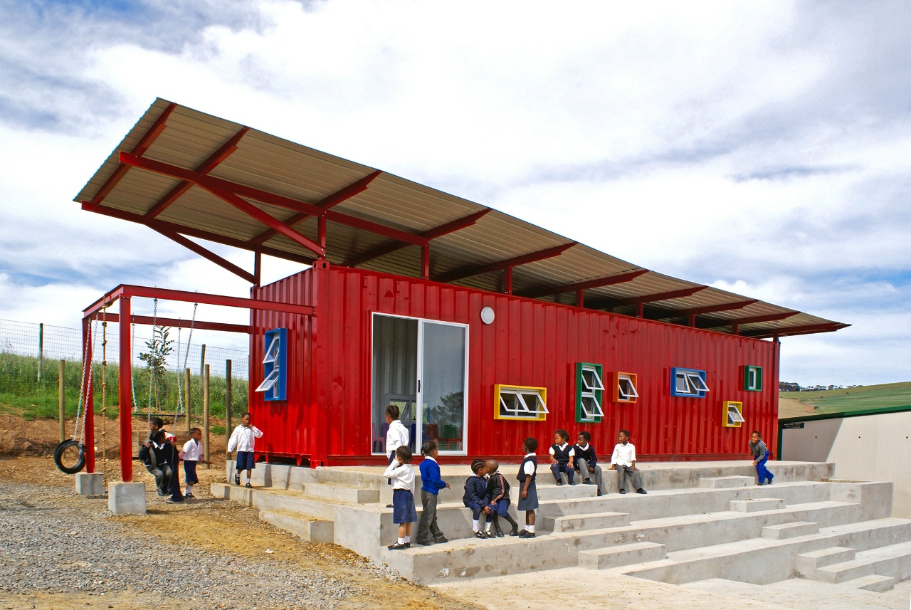 Shipping Container School